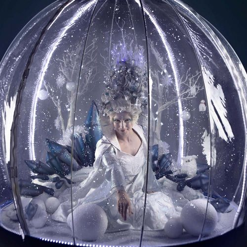 Living Snow Globe by The Show Globe
